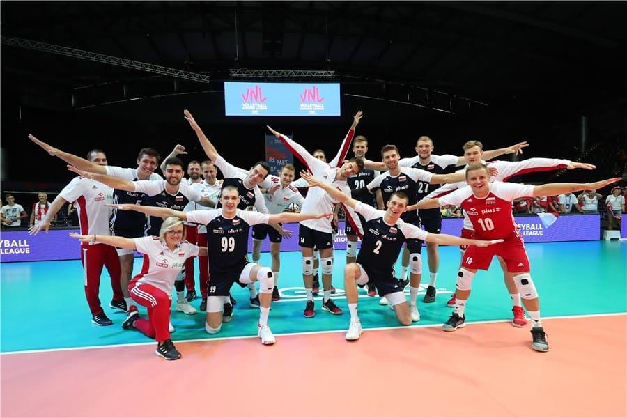 Polscy siatkarze rozpoczynają zmagania w turnieju finałowym Siatkarskiej Ligi Narodów 2019 (Fot.: FIVB/volleyball.world)