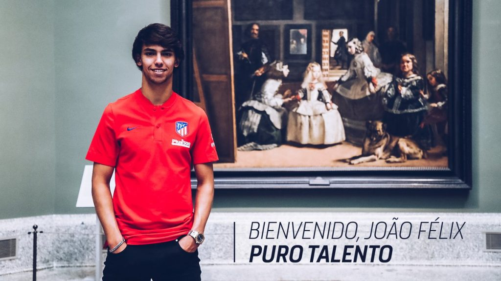 Aż 126 milionów euro za Joao Felixa! (Fot.: Atletico Madryt/Twitter)