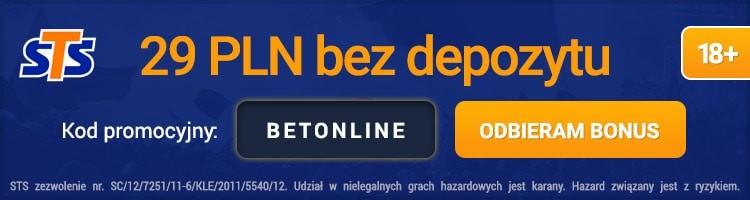 polski bukmacher internetowy sts bonus