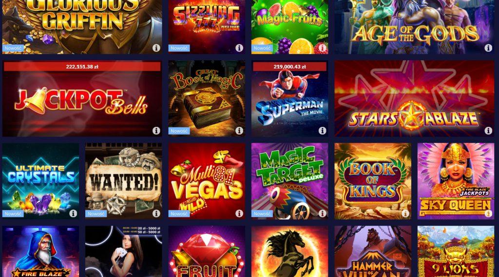 Automaty kasynowe Total Casino online