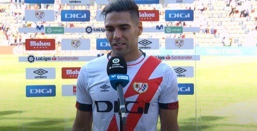 Falcao w 11 minut zdobył pierwszego gola dla Rayo