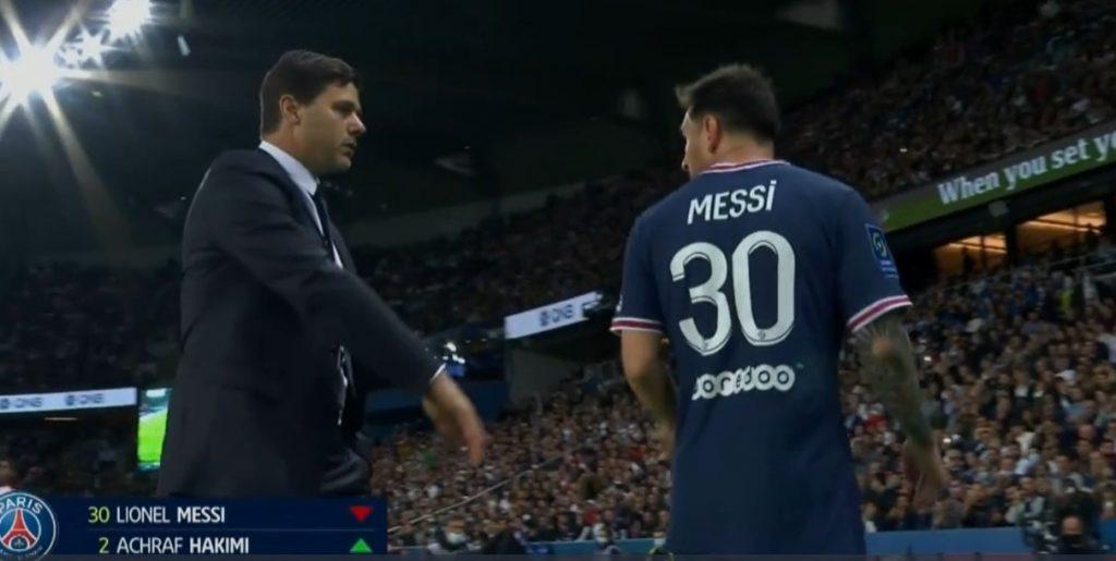 Messi nie podał ręki trenerowi. Pierwsze spięcia w PSG? [VIDEO]