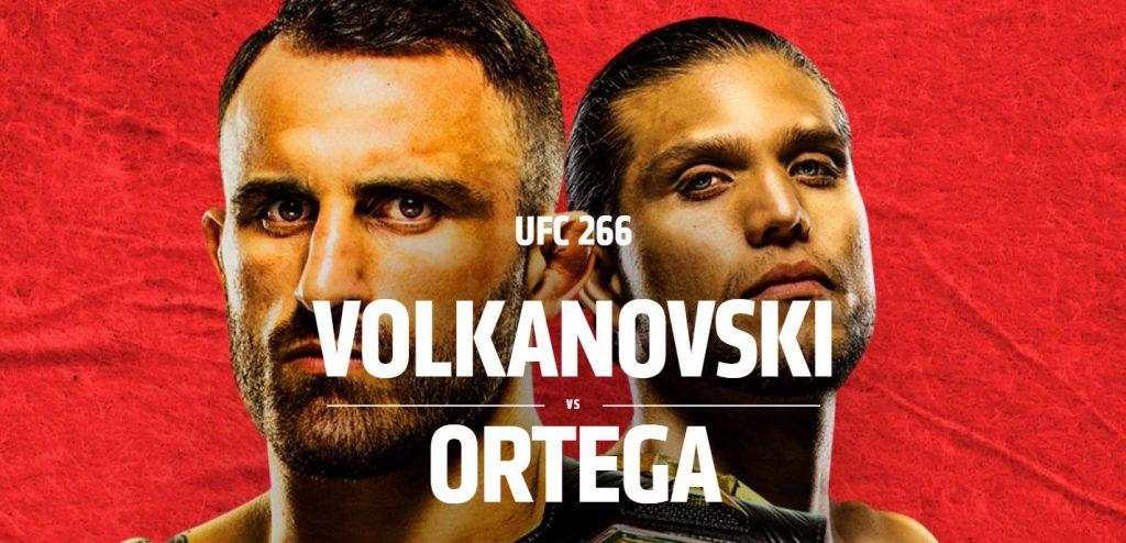 Typy na UFC 266. Oto faworyci bukmacherów!