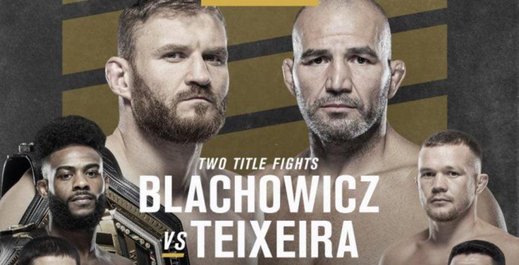 Jest pierwsza zapowiedź UFC 267: Błachowicz vs Teixeira!
